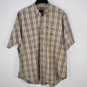 Burberry Short Sleeve Dress Shirt
